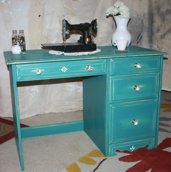 This Item Is Unavailable Turquoise Desk Furniture Makeover Inspiration Desk