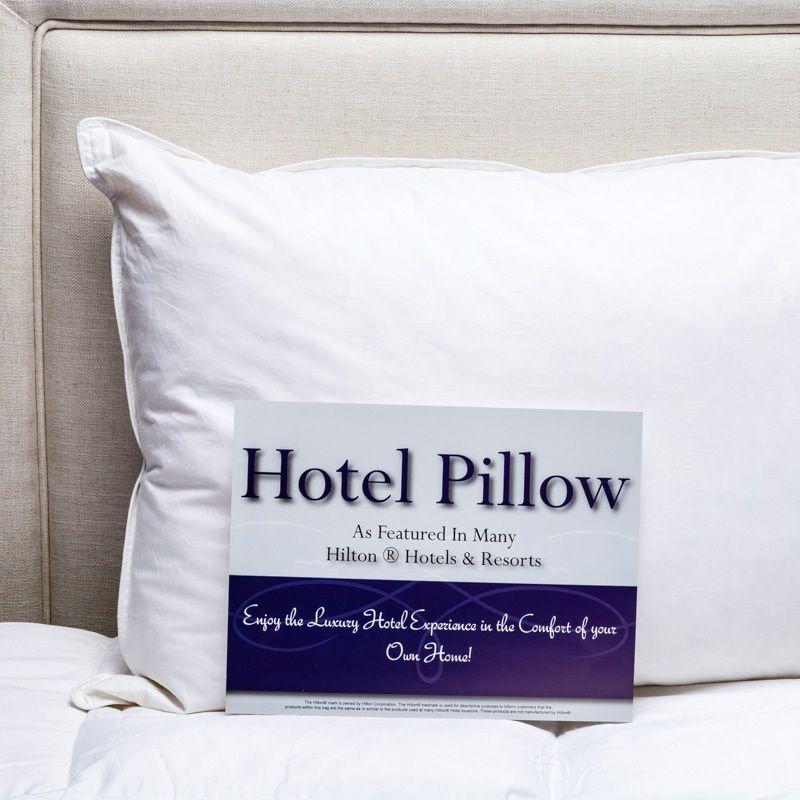 Envirosleep Dream Surrender Pillow Featured At Many Hilton
