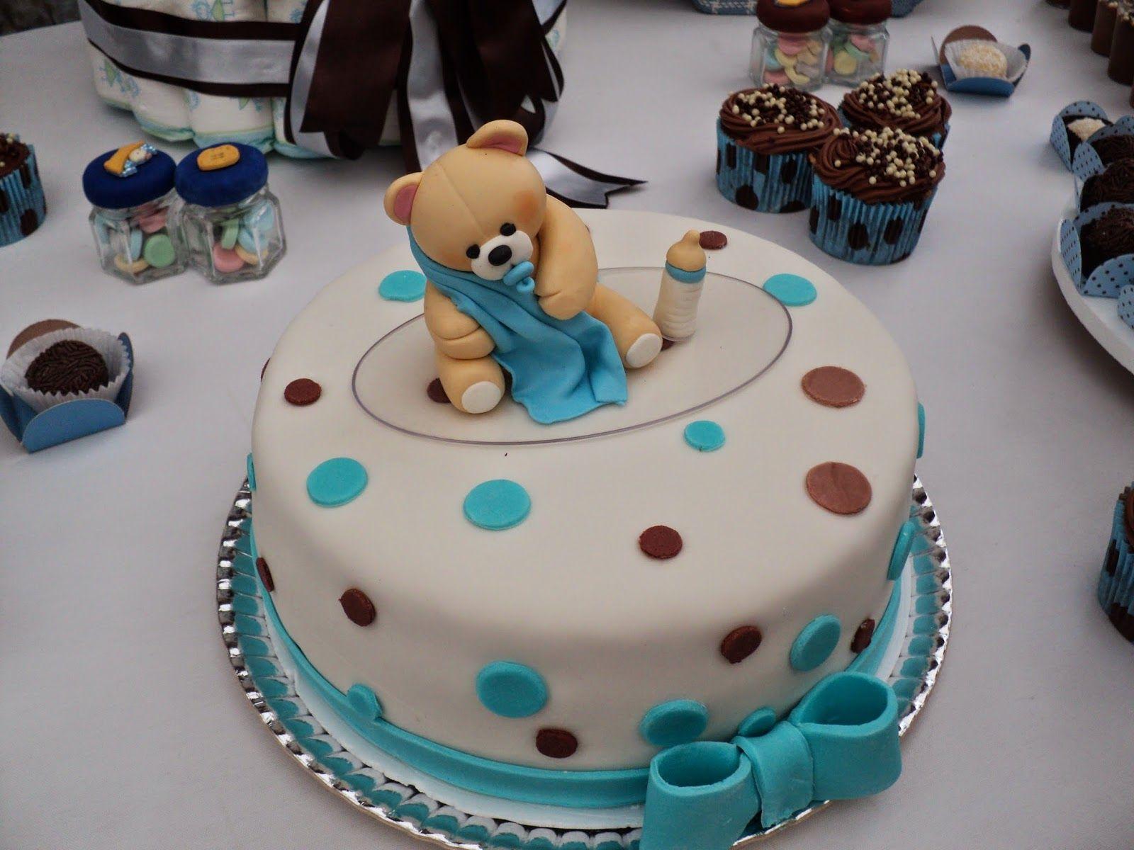 Muito Decoração chá de bebê - tema urso com poá. | JessyDecor | Pinterest KX14
