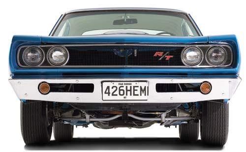 1968 Dodge Coronet R/T 426 HEMI, front end view