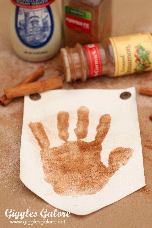 Sugar and Spice Handprint Turkey Banner