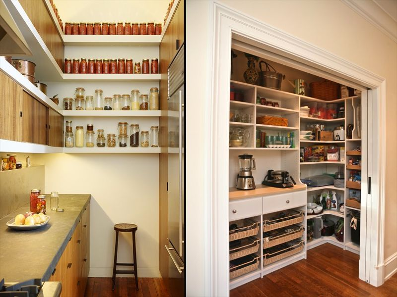 Small Kitchen Pantry Ideas Brilliant Review