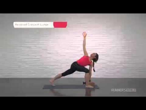 beginners yoga for runners  runner's world magazine