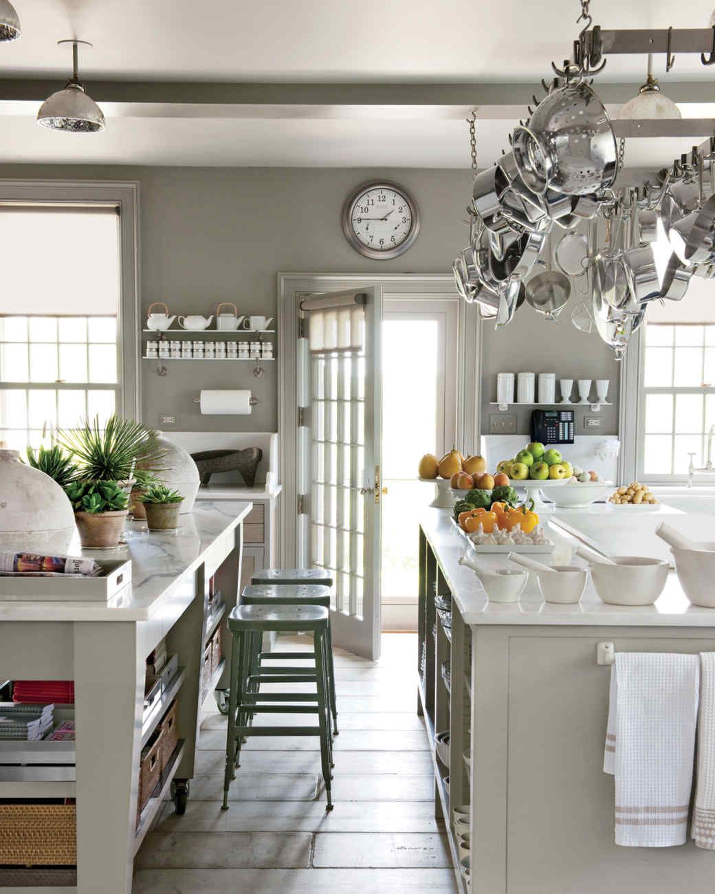 Charming Kitchen Islands | Martha Stewart Living   An Island Provides A Central Spot  To Work And