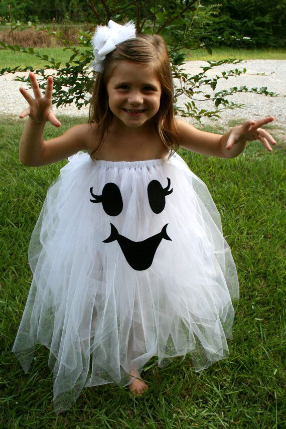 Too Cute To Spook Tutu ghost Halloween Costume size 4T-6 girls  sc 1 st  Pinterest & Too Cute To Spook Tutu ghost Halloween Costume size 4T-6 girls ...