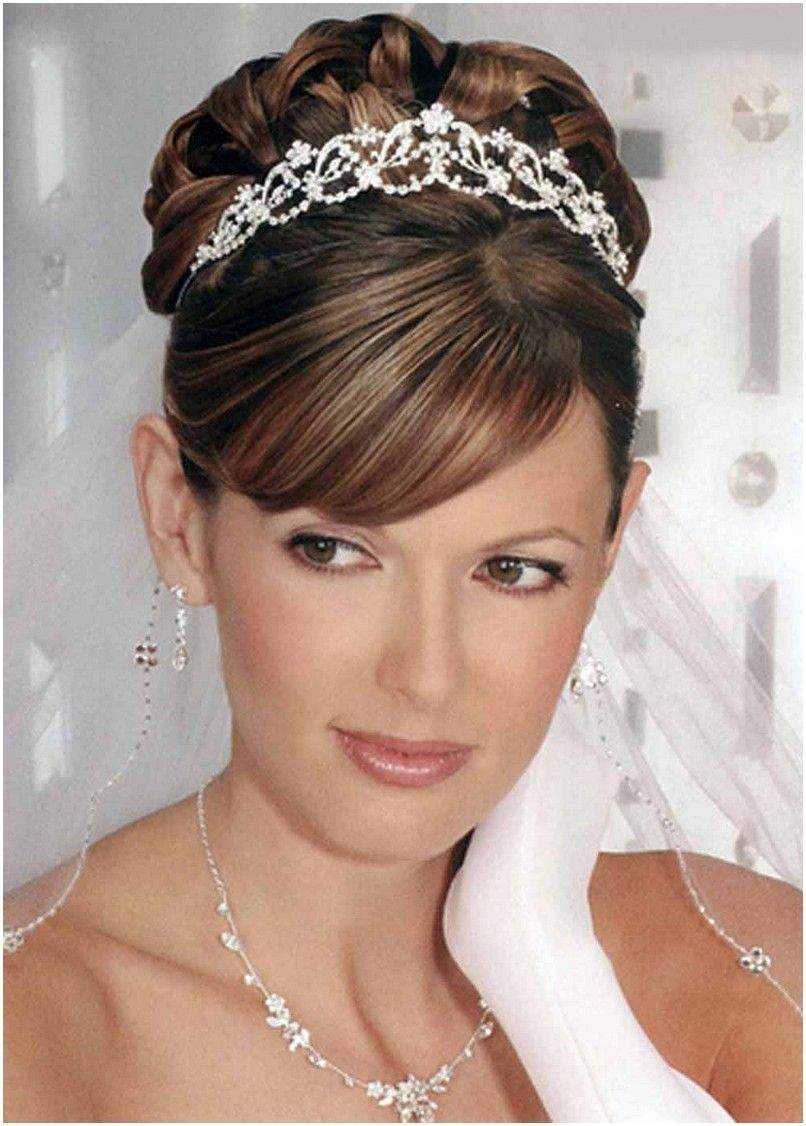 Wedding Hair Updos With Tiara And Veil Jpg