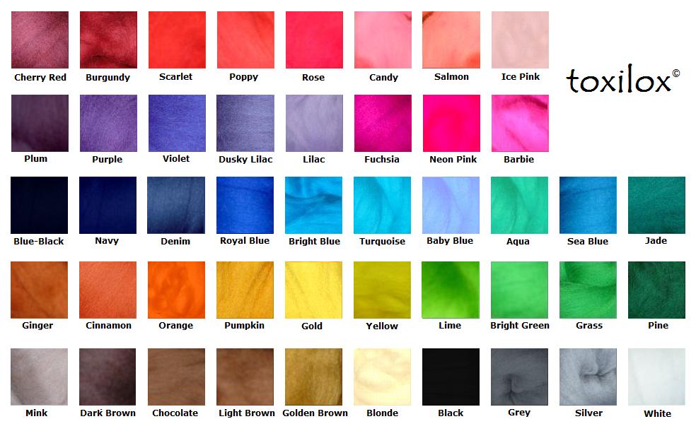 Unnatural Hair Dye Color Chart Google Search