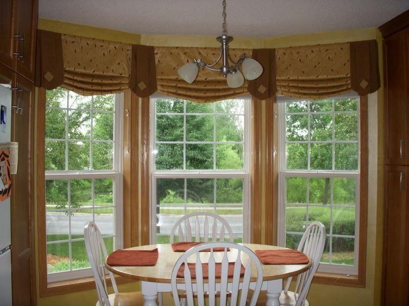 Window Treatments For Bay Windows Window Curtains Window Treatments On Pinterest Bay Windo Living Room Windows Curtains Living Room Bay Window Treatments