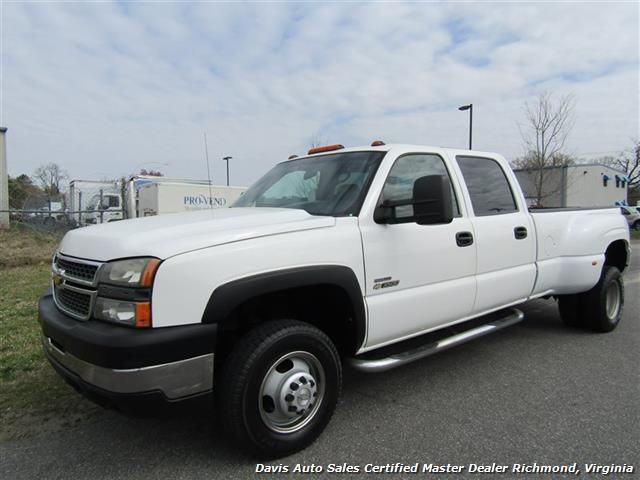 2007 Chevrolet Silverado 3500 Classic Hd Work Truck Duramax Diesel 4x4 Dually Crew Cab Lb For Sale In Richmond V Chevrolet Silverado Work Truck Duramax Diesel