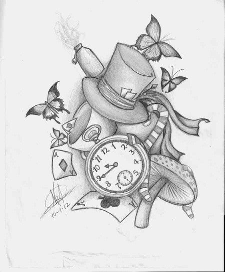 Alice in wonderland | dibujos | Pinterest | Alice, Drawings and Tattoo
