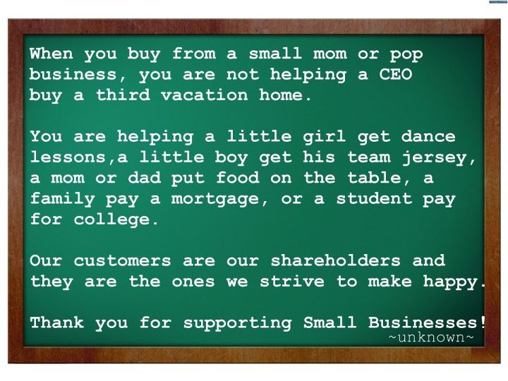 Small Business Thank You Note Love This  I Make I Sell