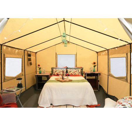 Ozark Trail 12 X 10 All Season Outfitter Wall Tent Sleeps 6 Walmart Com Family Tent Camping Tent Glamping Wall Tent