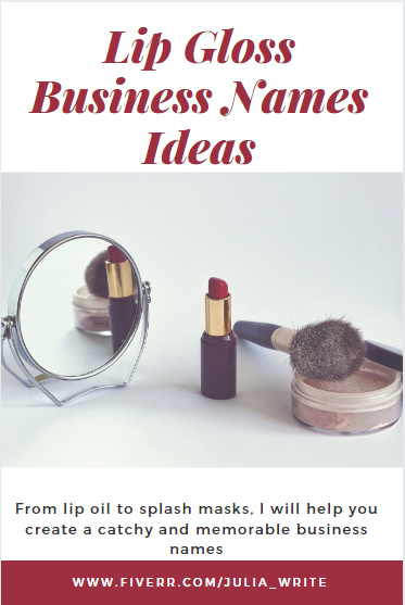 Julia Write I Will Generate New Business Name Ideas Company Name Brand Name For Business For 10 On Fiverr Com Free Beauty Products Sephora Beauty Free Beauty Samples