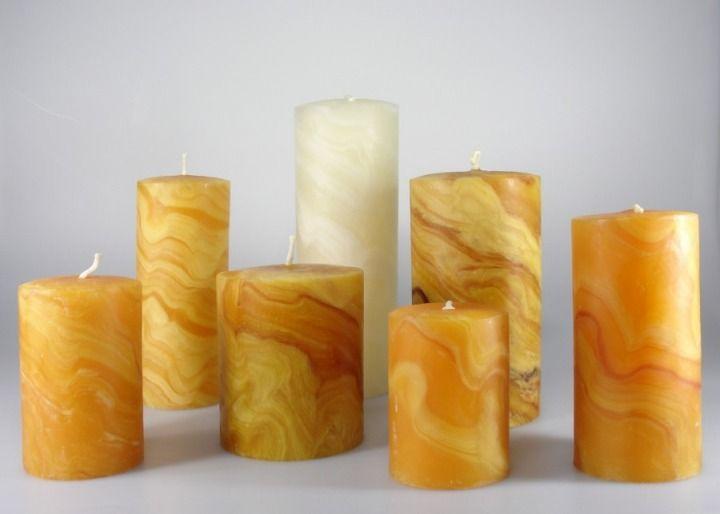 geknetete Kerzen
