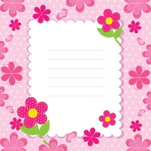 httpfreedesignfilecom71771cuteflowerbabycard