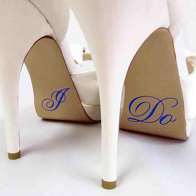 Amazing Blue Sole Wedding Shoes