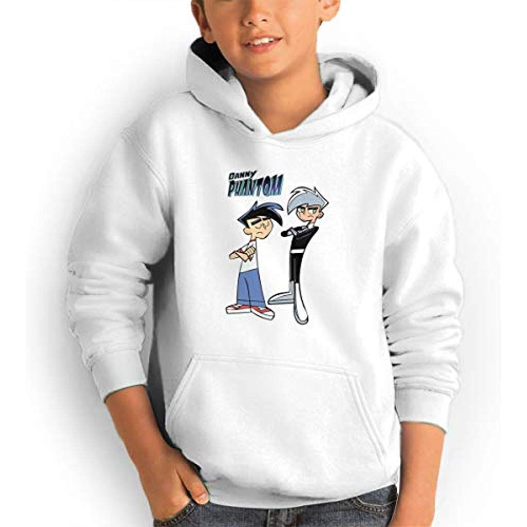 Youth Hoodies Animated Tv Danny Phantom Comfortable Sweatshirts Pullover For Girlboy Clothing Shoes Comfortable Sweatshirt Youth Hoodies Pullover Sweatshirts [ 1024 x 1024 Pixel ]