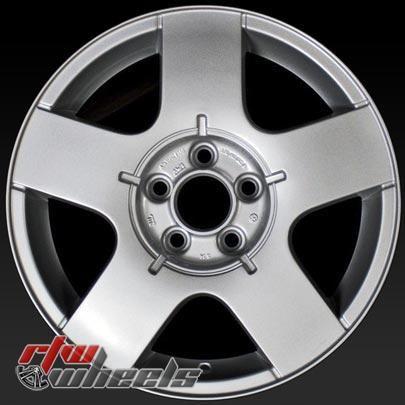 Volkswagen Vw Oem Wheels For Sale 1999 2006 15 Silver Rims 69735 Oem Wheels Wheels For Sale Volkswagen Jetta