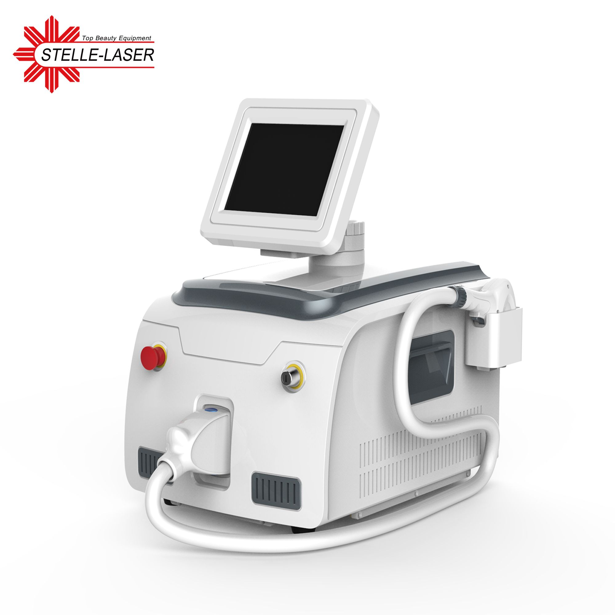 Portable 808nm diode laser hair removal machine!