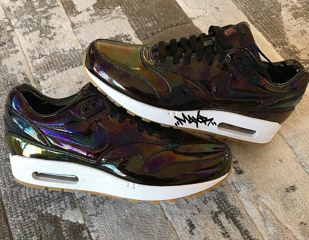 Nike Air Max 1 x Bespoke Oil Slick