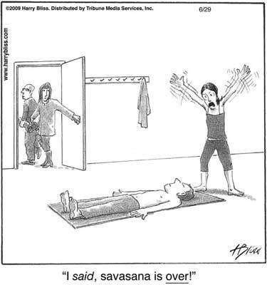 savasana funny comic  yoga funny