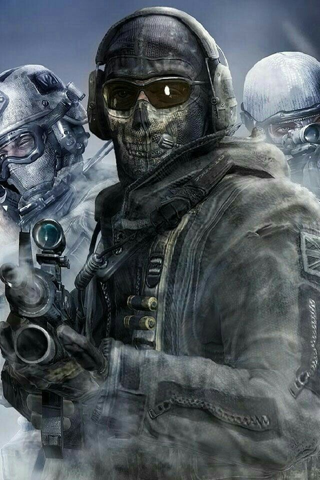 Call Of Duty Ghosts Simon Ghost Riley Call Of Duty Ghosts
