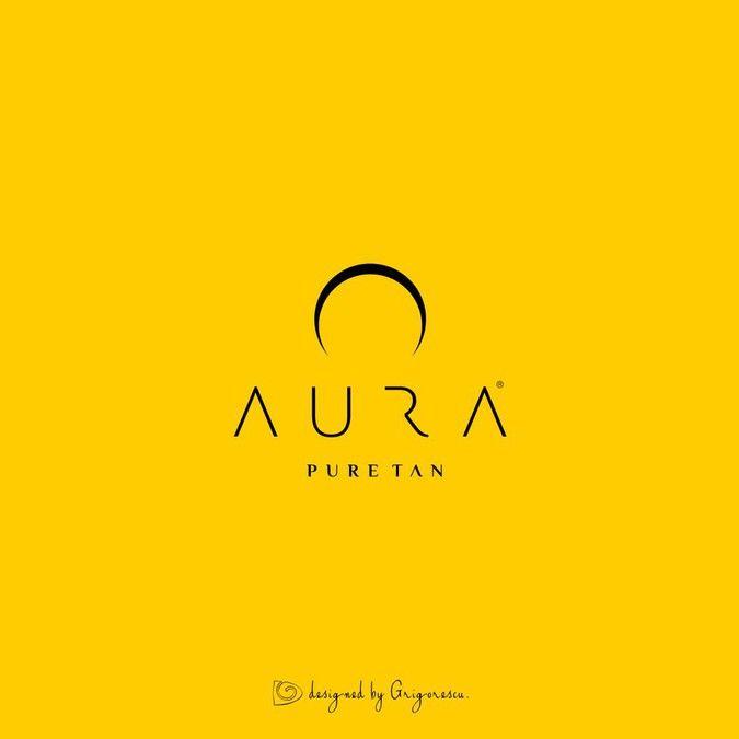 Aura - Spray Tan System - Create a distinctive and unique logo - GUARANTEED CONTEST by grigorescu