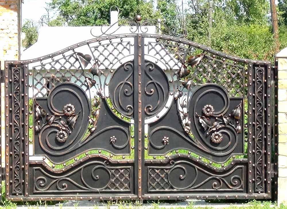 Gate # 141 (Black Coffee) |  Welding workshop Marlene