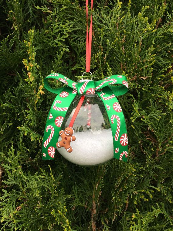 Decorating Glass Ball Ornaments This Listing Is For 1 A Glass Ball Ornament Filled With Snow And