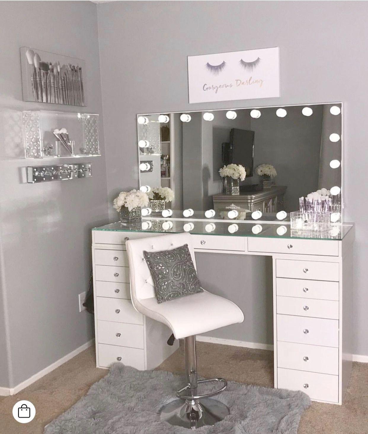 Makeup Vanity Mirror Ideas little Makeup Vanity Plans