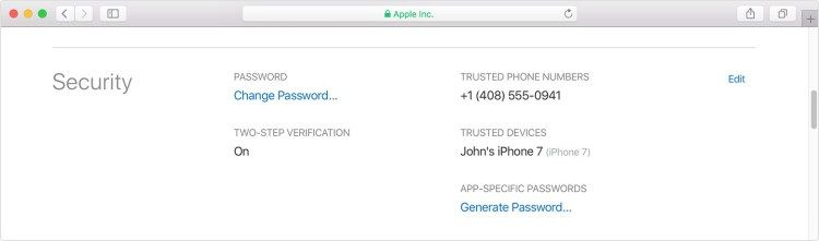 Make Sure Your Apple Id Is Set For Two Factor Verification Not