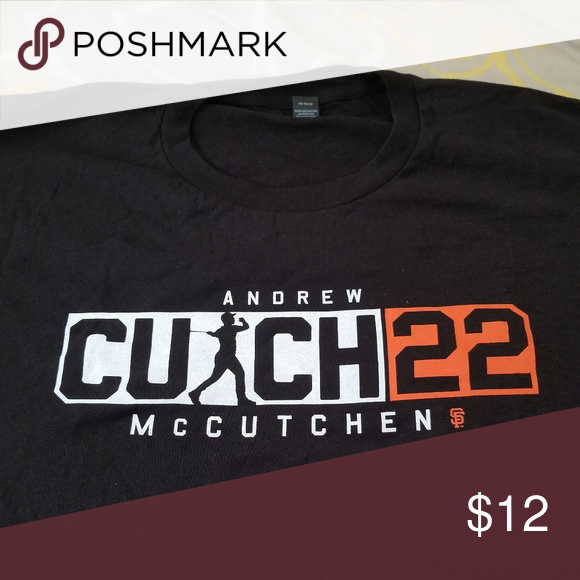the latest 4d260 58e95 SF Giants tee Andrew McCuthen 22 Brand new. Andrew McCutchen ...