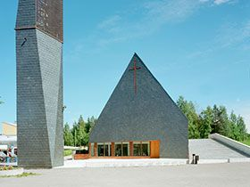 The project Lassila Hirvilammi: church in Jyväskylä - Buildings and public places