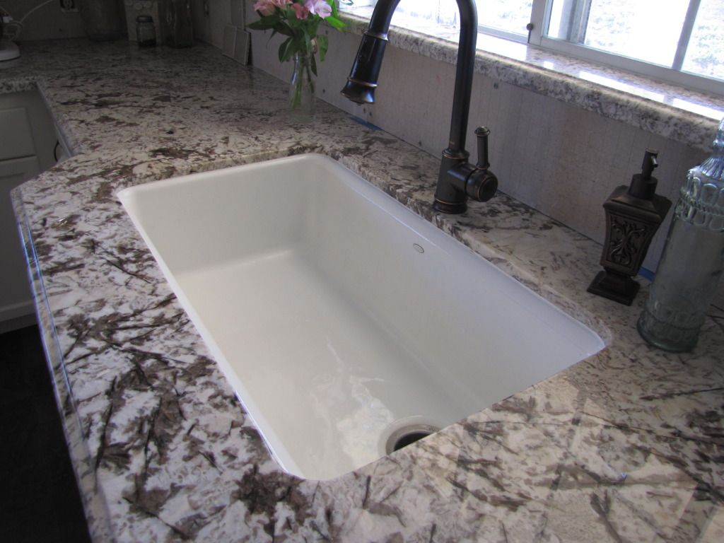 Bianco Antico Granite Problems Re On Waterstone Faucet