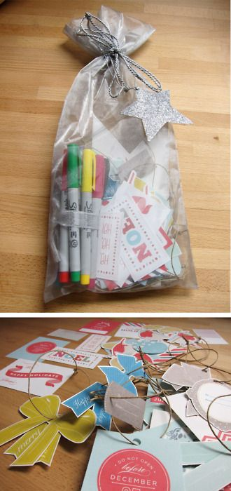 DIY Gift Tag Set