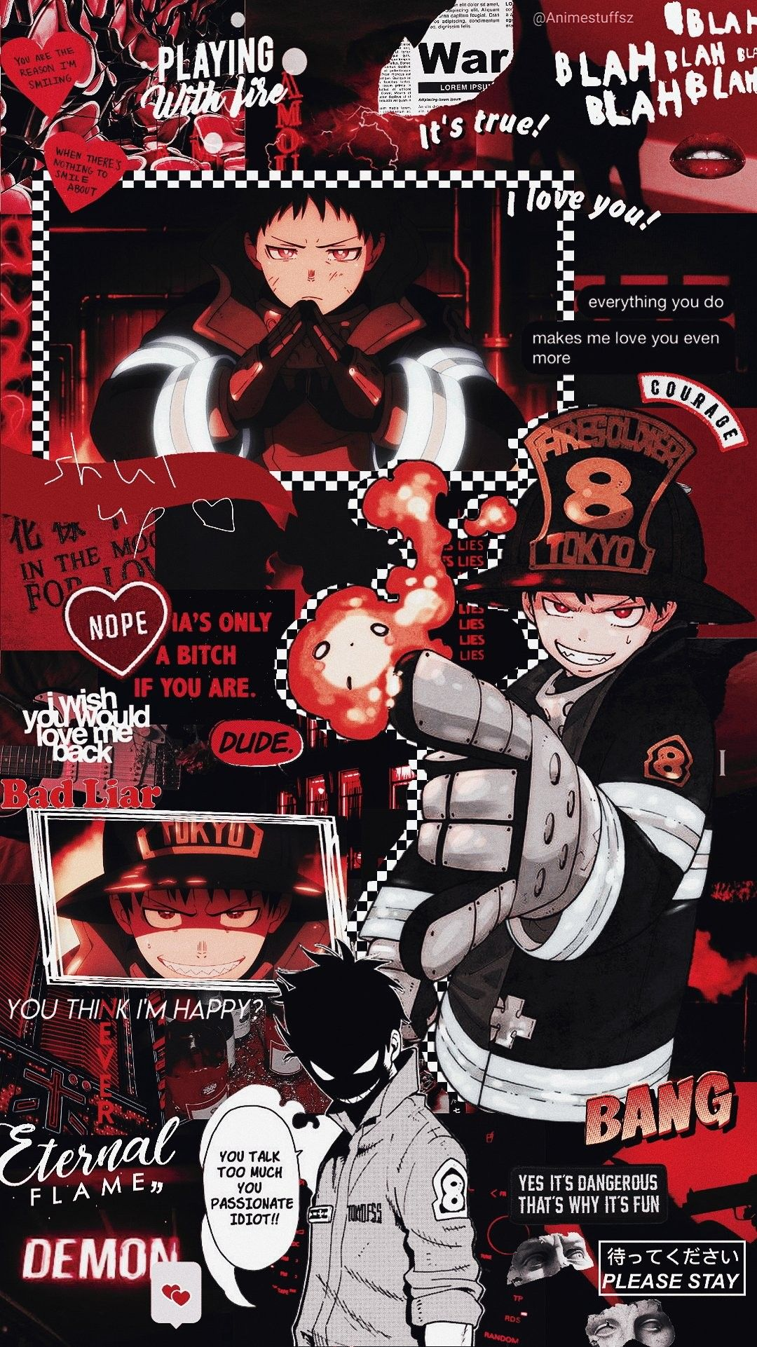 Fire Force Anime Wallpaper Iphone Cute Anime Wallpaper Anime Wallpaper Simple wallpaper;aesthetic wallpaper;wallpaper quotes;flower wallpaper;wallpaper tumblr. anime wallpaper iphone cute anime