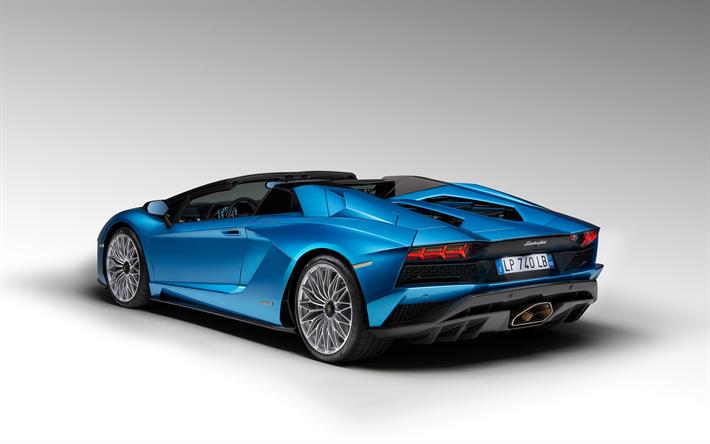 Populaire Télécharger fonds d'écran Lamborghini Aventador Roadster S, 2018  XY04