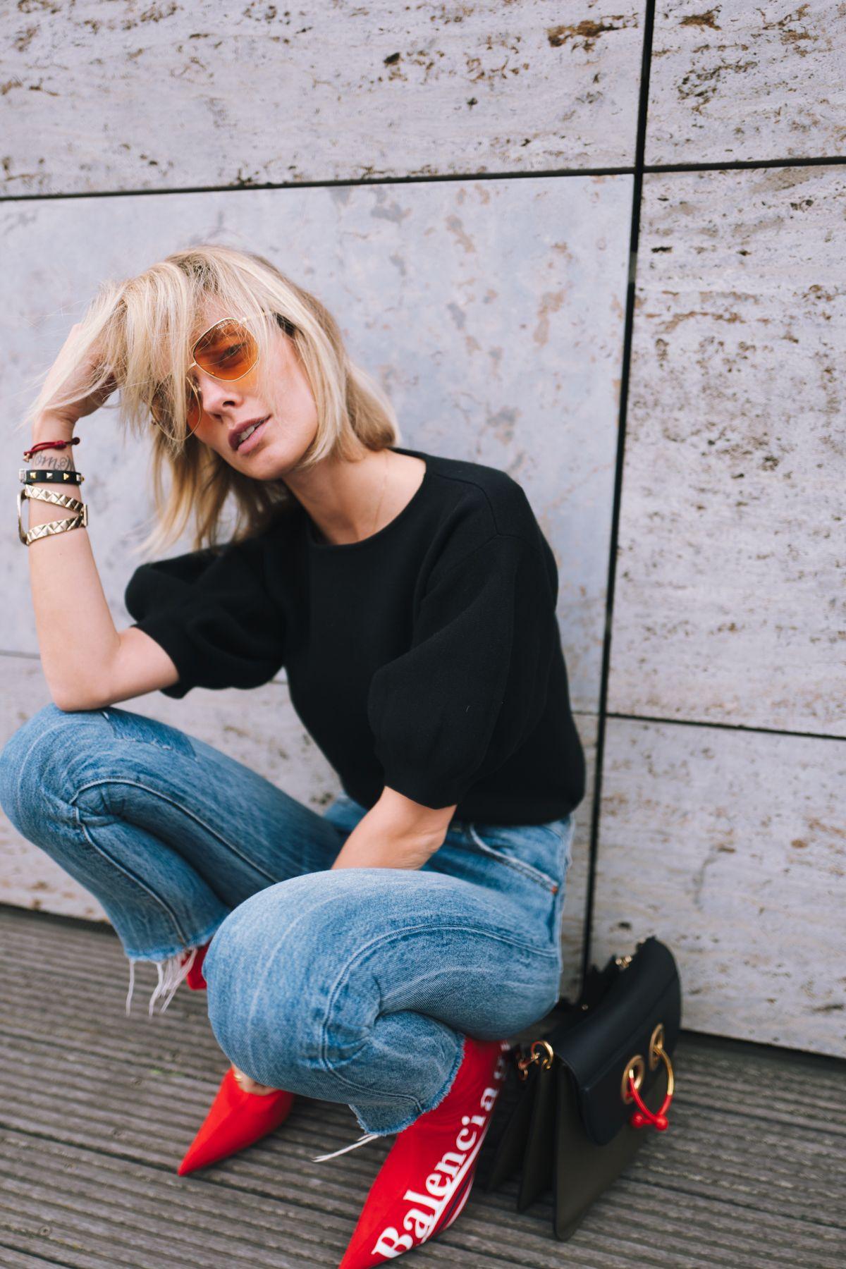 e9632df602d035 Balenciaga x Colette Knife Boots Outfit - Lisa Hahnbück Fashion Blog ...