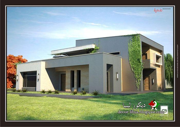 تصاميم منازل فيلات حديثه مودرن تشكيلات روعه Designs Houses Villas Modern تصاميم منازل فيلات حديثه مودرن تش House Design House Styles House