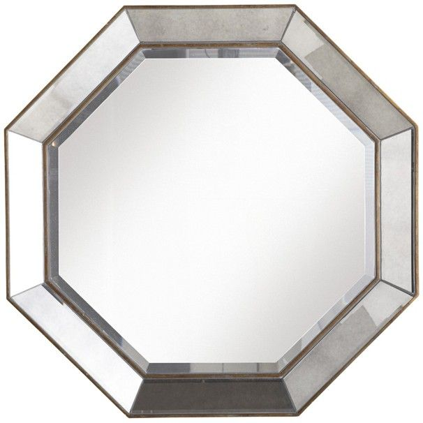 Furniture And Accessories To Make The Most Of A Small Space Octagon Mirror Mirror Mirror Wall