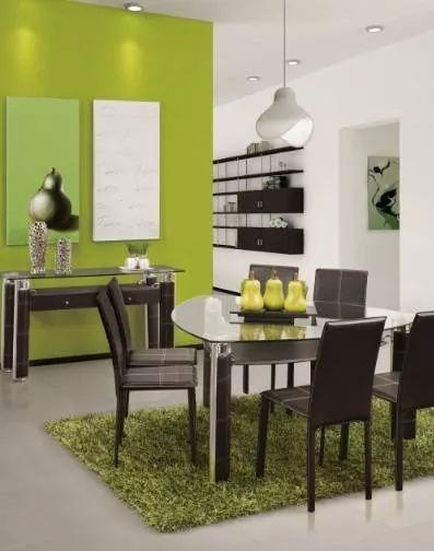 Comedor triangular  muebles en 2019  Room Decor Green