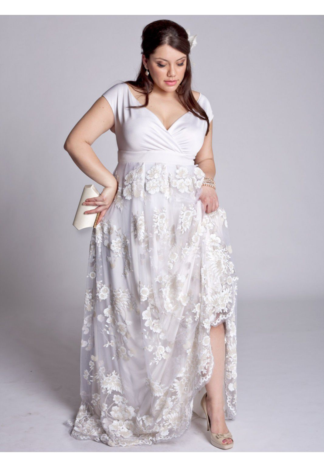 Plus Size Eugenia Vintage Wedding Gown Image How Beautiful I Love