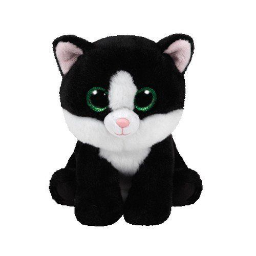3b2d51a164d Ty Beanie Babies Ava - Black   White Cat   Price   7.31   FREE Shipping