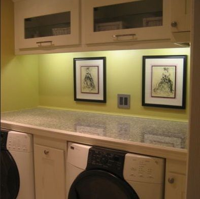 Wall Color Track Laundry Room Lighting