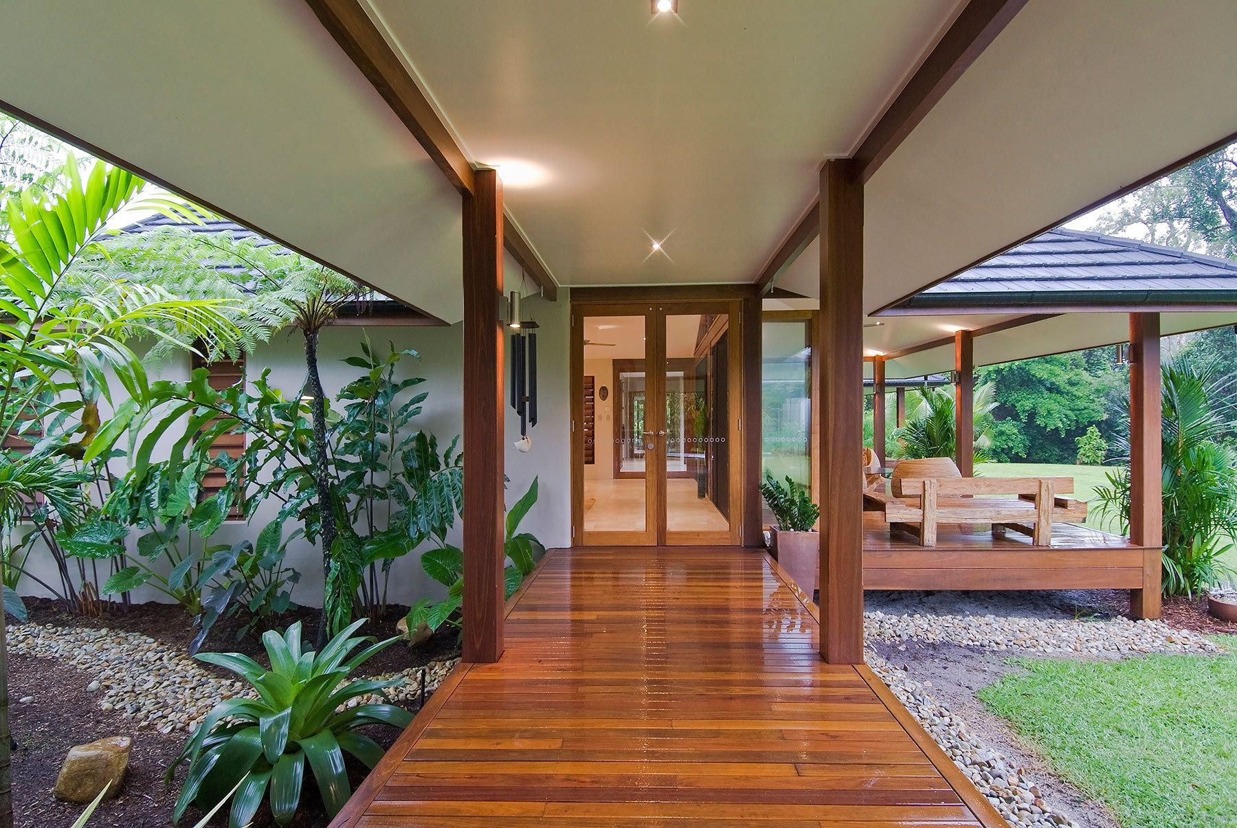 Project T-834 | Bali style home, Bali house, Tropical ...