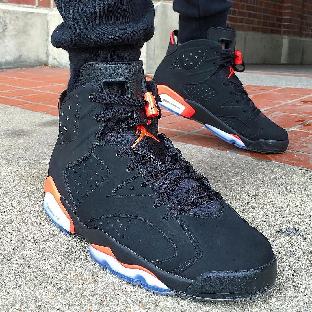 28e7b9de9047 What did you wear today    Air Jordan 6  Infrared     rare breed217  WDYWT  for on-feet photos  WDYWTgrid for outfit lay down photos by wdywt