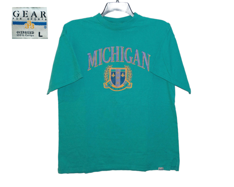 Vintage University Of Michigan Um Wolverines U Of M Est 1817 Etsy Michigan Shirts Shirts Cotton Labels [ 2400 x 3000 Pixel ]