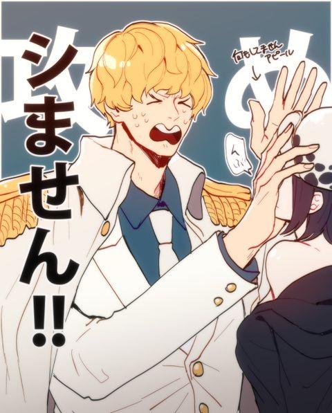Corazon Cora-san Donqixote Rosinante One Piece
