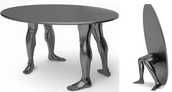 cool furniture design. Cool Sculptural Human Furniture Design H