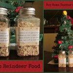 Boy Mama: Last Minute Christmas Fun: Magic Reindeer Food #reindeerfoodrecipe